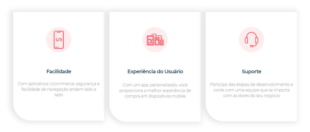 criar aplicativo ucommerce