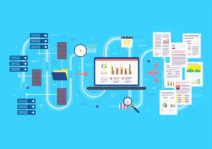 ilustração do processo de business intelligence